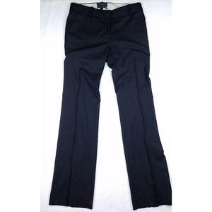 J.Crew black 1035 wool suit trouser size 2